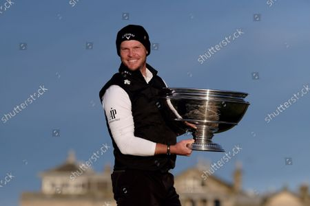 Editorial image of The Alfred Dunhill Links Championship 2021 The Old Course, St Andrews, Fife, Scotland, Oct 3rd 2021, St Andrews, United Kingdom - 03 Oct 2021