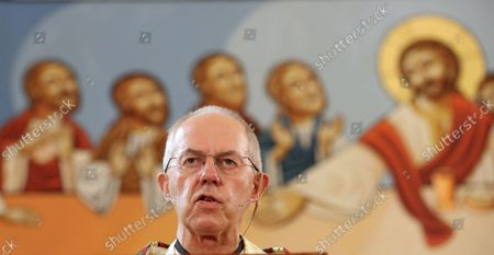 Editorial picture of Archbishop of Canterbury visits Egypt, Cairo - 08 Oct 2021