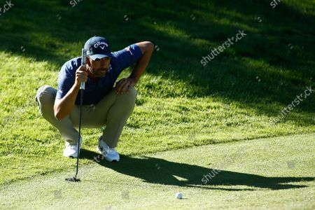 Pablo Larrazabal of Spain looks on during the Acciona Open Espana of Golf, Spain Open, at Casa de Campo on October 08, 2021, in Madrid, Spain.