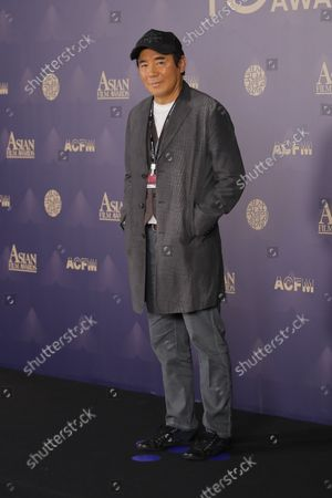 Director Kim Jee-woon attends the 15th Asian Film Awards during the 26th Busan International Film Festival at Paradise Hotel on October 08, 2021 in Busan, South Korea.