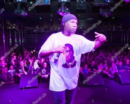 KRS-One in concert at the liquidrooms, Edinburgh, Scotland, Britain