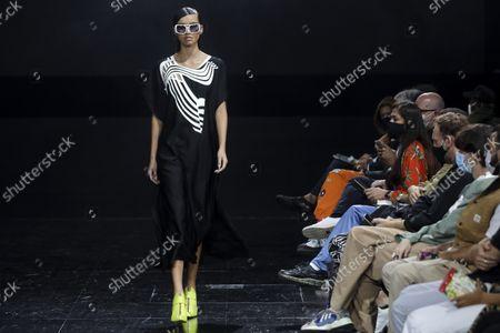 Editorial image of Luis Buchinho - Runway - 57th Lisbon Fashion Week, Portugal - 08 Oct 2021
