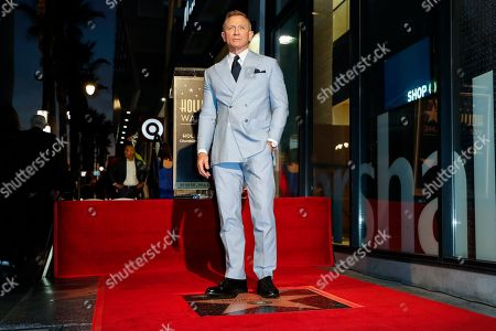 Editorial photo of Daniel Craig Honored with Star on the Hollywood Walk of Fame, Los Angeles, CA, USA - 06 Oct 2021