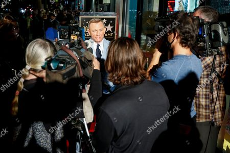 Editorial picture of Daniel Craig Honored with Star on the Hollywood Walk of Fame, Los Angeles, CA, USA - 06 Oct 2021