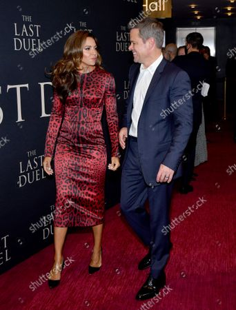 Luciana Damon and Matt Damon