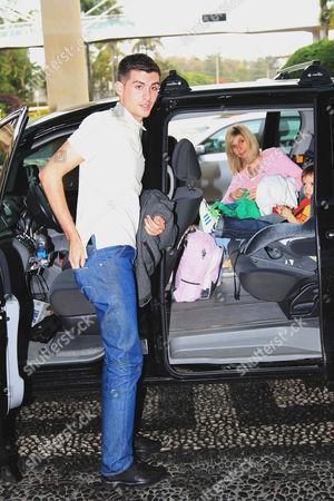 Stacey Solomon's boyfriend Aaron Barham, Stacey Solomon's mum Fiona Solomon, Stacey Solomon's son Zachary Cox