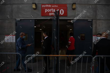Editorial image of Elections For The New President Of Sport Lisboa E Benfica, Lisbon, Portugal - 09 Oct 2021