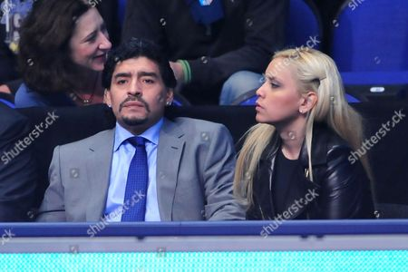 Diego Maradona and Veronica Ojeda