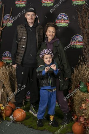 Editorial photo of Alton Towers Scarefest Trick O Treat Town, Staffordshire, UK - 09 Oct 2021