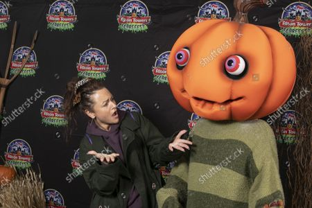 Editorial image of Alton Towers Scarefest Trick O Treat Town, Staffordshire, UK - 09 Oct 2021