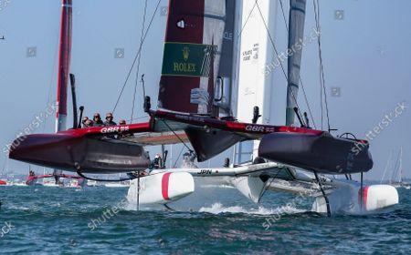 Editorial image of Spain SailGP, Event 6, Season 2 in Cadiz, Andalucia, Spain - 09 Oct 2021
