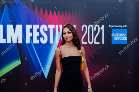 Kassius Nelson attends the UK Premiere of 'Last Night In Soho' during the 65th London Film Festival at The Royal Festival Hall, in London, Britain, 9 October 2021.