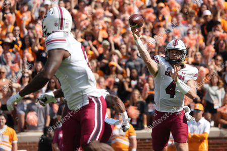 Editorial image of NCAA Football South Carolina vs Tennessee, Knoxville, USA - 09 Oct 2021