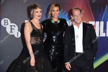 Stock Photo of Agathe Rousselle, Julia Ducournau and Vincent Lindon