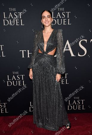 """Editorial photo of NY Premiere of """"The Last Duel"""", New York, United States - 09 Oct 2021"""