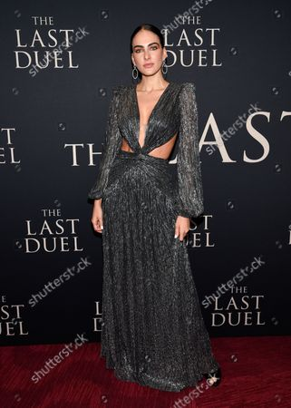 """Editorial picture of NY Premiere of """"The Last Duel"""", New York, United States - 09 Oct 2021"""