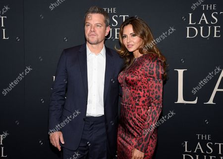 """Editorial image of NY Premiere of """"The Last Duel"""", New York, United States - 09 Oct 2021"""