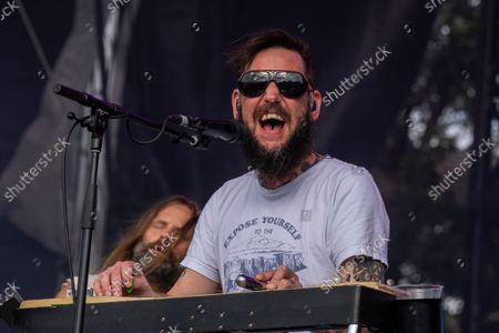 Stock Picture of Ben Bridwell of Band of Horses