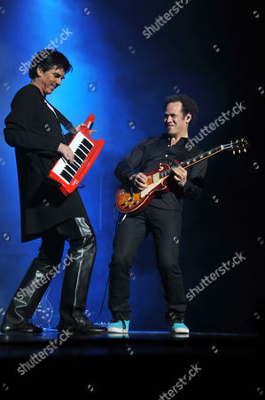Editorial photo of Didie Maruani and Space 'From Earth to Mars' Concert, St Petersburg, Russia - 23 Nov 2010