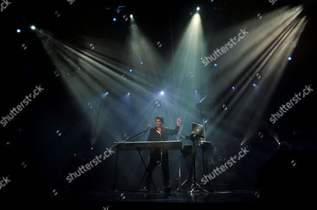 Editorial image of Didie Maruani and Space 'From Earth to Mars' Concert, St Petersburg, Russia - 23 Nov 2010
