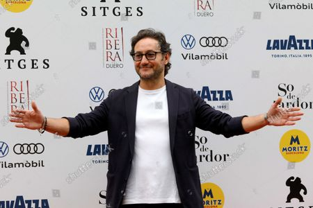 Carlos Santos during the presentation of the four-episode-TV series 'Nuevas Historias para no dormir' ('New Stories to Keep you Awake'), a co-production of Spanish state-owned TVE and Amazon Prime Video, on the fourth day of the Sitges Film Festival in Sitges, Catalonia, Spain, 10 October 2021. TheSitges Film Festival is held from 07 to 17 October 2021.