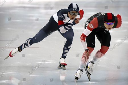Editorial image of Speed Skating Open, Beijing, China - 10 Oct 2021