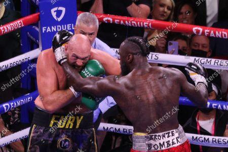 Editorial picture of Fury vs Wilder Iii Fight, Las Vegas, Nevada, United States - 10 Oct 2021