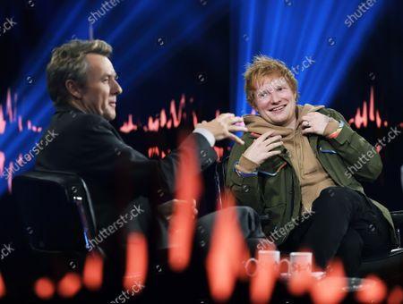 Ed Sheeran, Fredrik Skavlan, Recording of Skavlan, SVT, Stockohlm