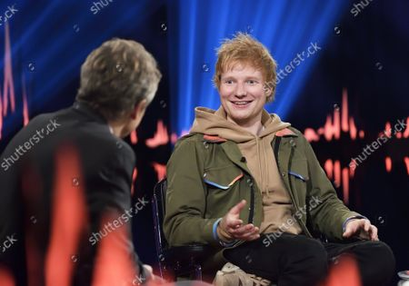 Editorial picture of Ed Sheeran during the recording of Skavlan, Stockholm, Sweden - 06 Oct 2021