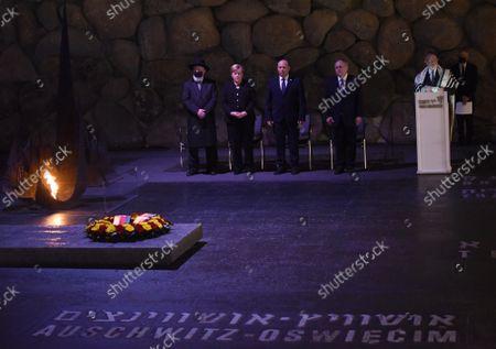 Editorial photo of Angela Merkel visit to Jerusalem - 10 Oct 2021