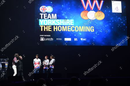 Tanya Arnold and Nile Wilson interview Jonny Brownlee, Georgia Taylor-Brown and Jessica Learmonth