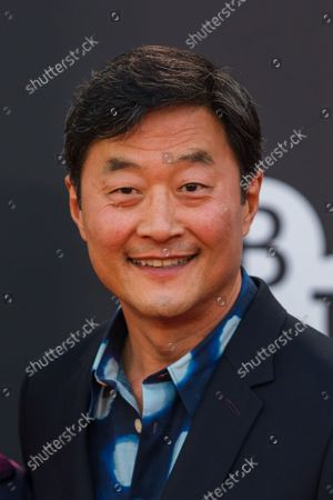Stephen Park attends the UK premiere of 'The French Dispatch' during the BFI London Film Festival at the Royal Festival Hall in London, Britain, 10 October 2021. The British Film Institute festival runs from 06 to 17 October 2021.