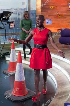 Editorial image of 'Daybreak' TV Programme, London, Britain. - 26 Nov 2010