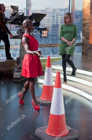 Editorial photo of 'Daybreak' TV Programme, London, Britain. - 26 Nov 2010