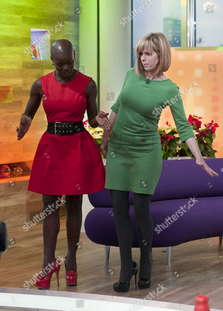 Stock Photo of Chyna Whyte and Kate Garraway
