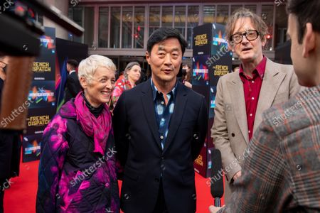 Editorial photo of 'The French Dispatch' premiere, BFI London Film Festival, London, UK - 10 Oct 2021