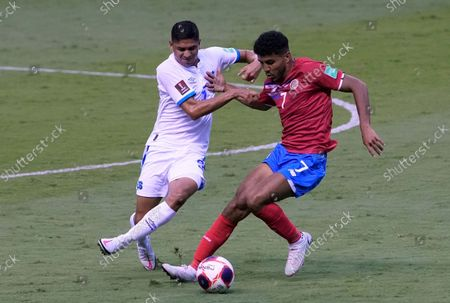 Editorial picture of El Salvador Wcup Soccer, San Jose, Costa Rica - 10 Oct 2021