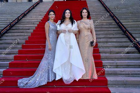Fatma Said, Sonya Yoncheva and Desiree Nosbusch