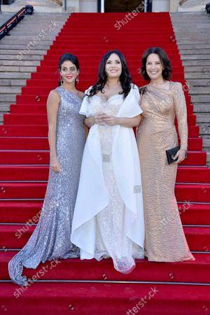 Stock Photo of Fatma Said, Sonya Yoncheva and Desiree Nosbusch