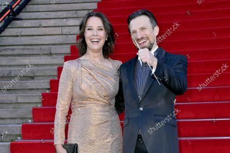 Desiree Nosbusch and Cornelius Meister