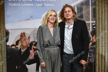 Stock Picture of Lea Drucker and Julien Rambaldi