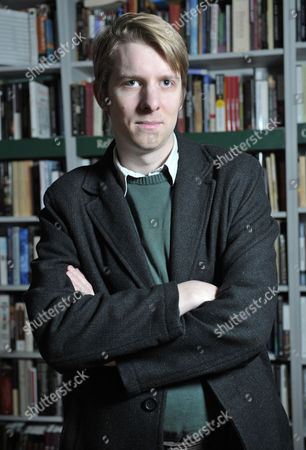 Editorial picture of Owen Hatherley at the London Review of Books Bookshop, London, Britain - 25 Nov 2010