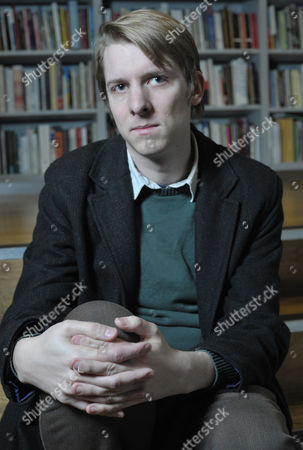 Editorial image of Owen Hatherley at the London Review of Books Bookshop, London, Britain - 25 Nov 2010