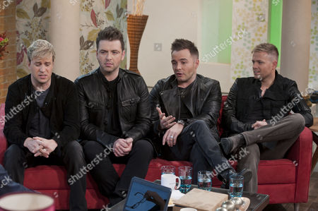 Westlife - Kian Egan, Mark Feehily, Shane Filan and Nicky Bryne
