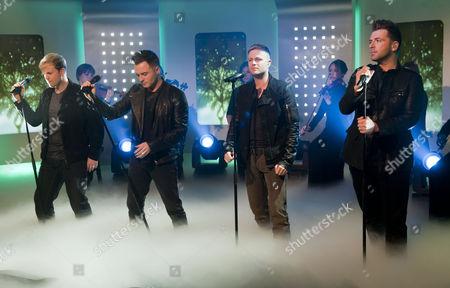 Westlife - Kian Egan, Shane Filan, Nicky Bryne and Mark Feehily