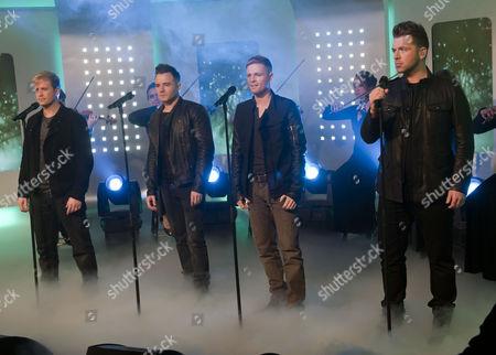 Westlife - Westlife - Kian Egan, Shane Filan, Nicky Bryne and Mark Feehily