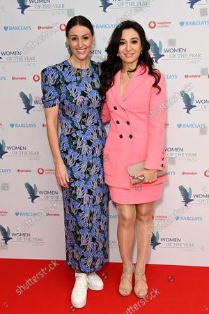 Suranne Jones and Heba Bevan