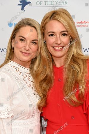Tamzin Outhwaite and Cat Deeley
