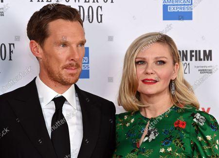 Benedict Cumberbatch and Kirsten Dunst