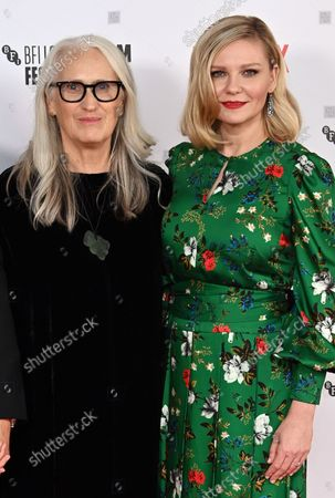 Jane Campion and Kirsten Dunst